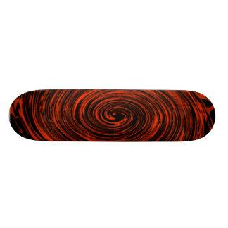 orange swirl skate boards