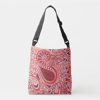 Orange Swirl Tote