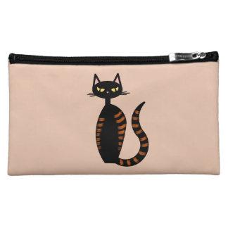 Orange Tabby Cat Makeup Bag
