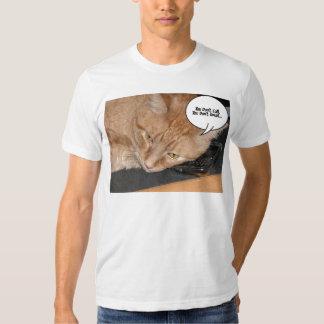 Orange Tabby Cat Humor Shirt