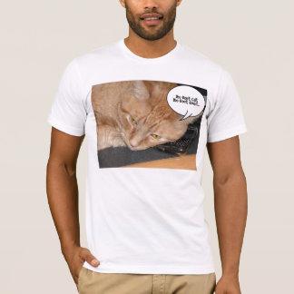 Orange Tabby Cat HumorYou don't call or email T-Shirt