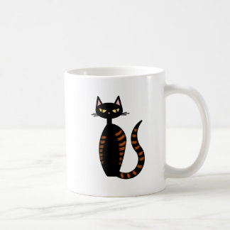 Orange Tabby Cat Classic White Coffee Mug