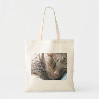 Orange Tabby Cat Budget Tote Bag