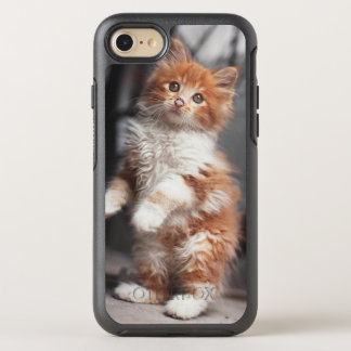 Orange Tabby Kitten OtterBox Symmetry iPhone 8/7 Case