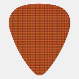 Orange Tartan Guitar Picks