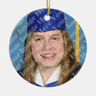 Orange Tassel Graduation Keepsake Ornament