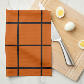 Orange Tea Towel