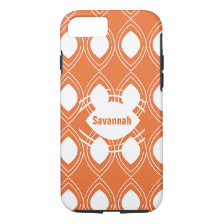 Orange Tear Drop Any Color Personalized iPhone iPhone 7 Case