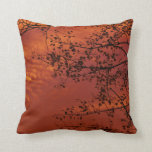 orange throw pillow with Asian flavour Cushions