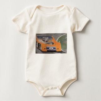 Orange Thunder Baby Bodysuit