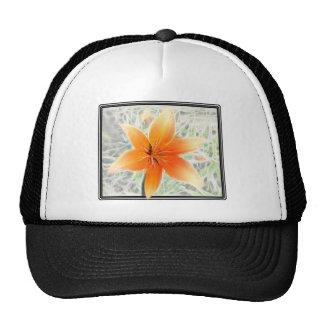 Orange Tiger Lily Hats