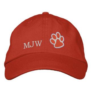 Orange Tiger Paw Cap