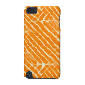 Orange Tiger Stripes Canvas Look iPod Touch 5G Case