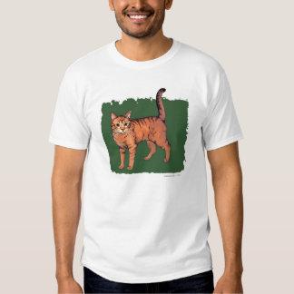 Orange 'Tiger' Tabby Cat Shirts