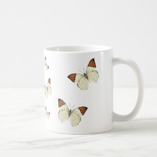 Orange Tip Butterflies Coffee Mug