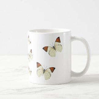 Orange Tip Butterflies Coffee Mug