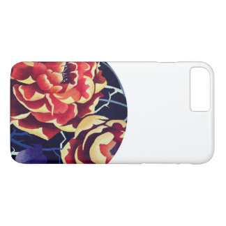 orange to flower iPhone 8 plus/7 plus case