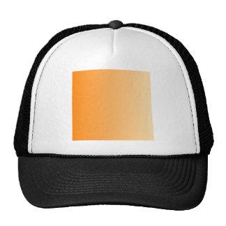 Orange to Peach Vertical Gradient Hats