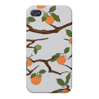 Orange Tree Case-Mate iPhone 5 Barely There Univer iPhone 4 Covers