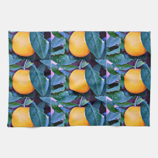 Orange Tree Kitchen Towel
