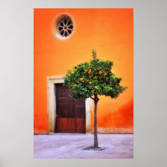 Orange Tree Very Pretty Poster