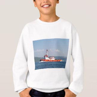 Orange Tug Boat Sweatshirt
