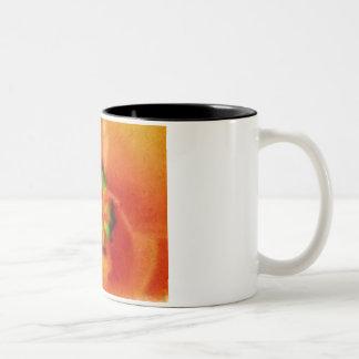 Orange Tulip Impressionist Mug