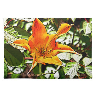 Orange Tulip Placemat
