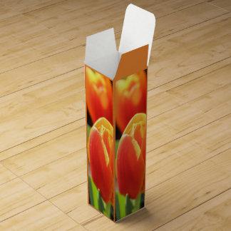 Orange Tulip Wine Box