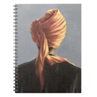 Orange turban 2004 notebook