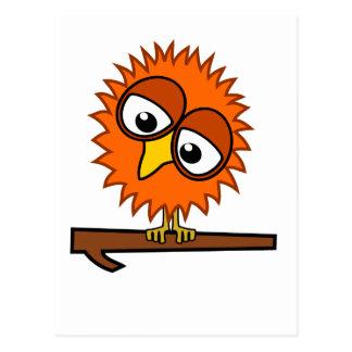 Orange Tweet Postcard