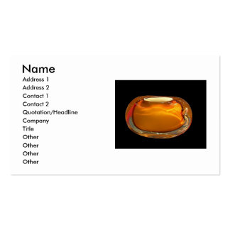 Orange Vase Business Card