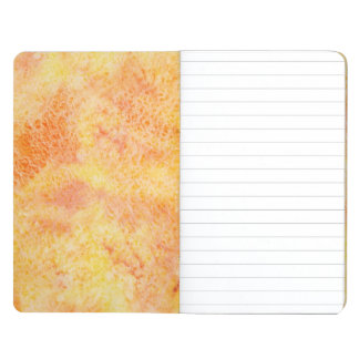 Orange Watercolor Background Journals