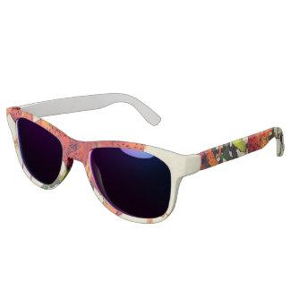 Orange Watercolor Tiger Lily 1 Sunglasses