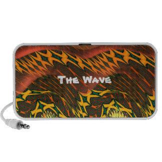 Orange Wave Portable Speaker