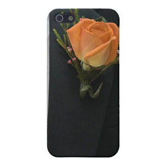 Orange Wedding Rose Cover For iPhone 5
