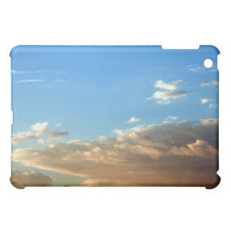 Orange & White Clouds against Blue Sky case Case For The iPad Mini