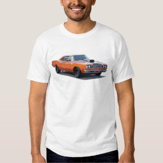Orange with black stripe 1967 Plymouth Roadrunner. T Shirt