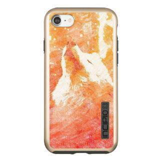 Orange Wolf iPhone 8/7 Incipio Incipio DualPro Shine iPhone 8/7 Case
