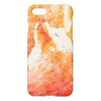 Orange Wolf iPhone 8/7 Matte Case