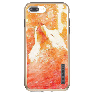 Orange Wolf iPhone 8 Plus/7 Plus Incipio DualPro Shine iPhone 8 Plus/7 Plus Case