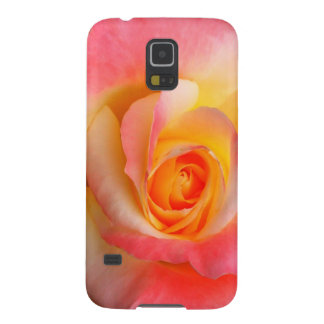 Orange, Yellow, and Pink Rose Multiple Products Galaxy S5 Cases