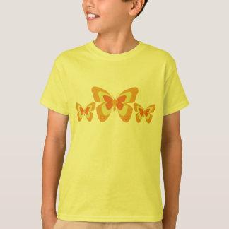 Orange & yellow butterfly T-Shirt