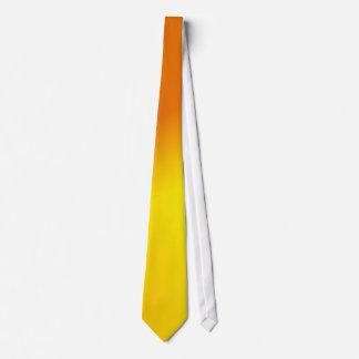 Orange Yellow Ombre Tie