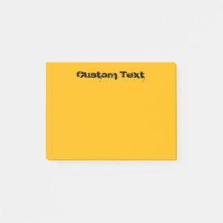 Orange/Yellow Post-it Notes