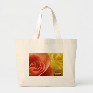 Orange & Yellow Roses Canvas Bag