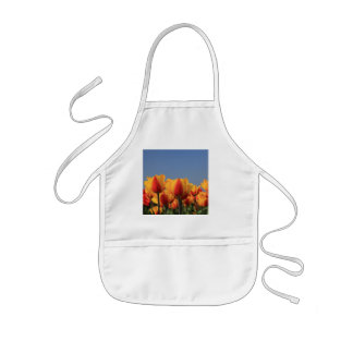 Orange yellow tulips by Thespringgarden Aprons