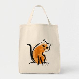 Orange You A Cat Tote Bag