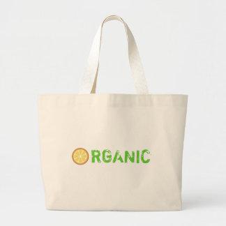 Orange You Organic Large Tote Bag
