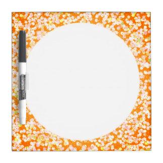 Orange You Productive Dry Erase Board